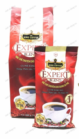Вьетнамский молотый кофе King Coffee Expert Blend №1, 100-500 гр.