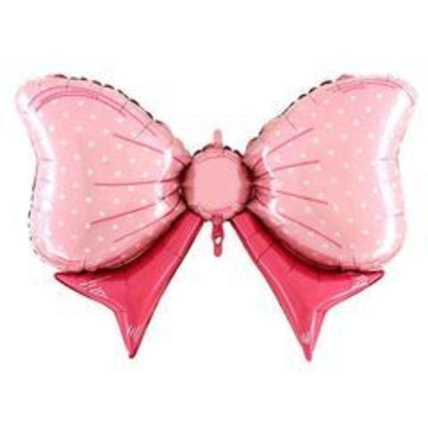 Г ФИГУРА Бант розовый, 43