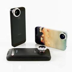 Fisheye, Macro+Wide и Telephoto объективы для телефона