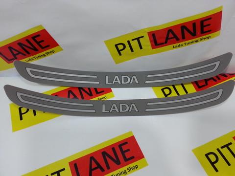 Наклейки на пороги для а/м Лада (Lada)
