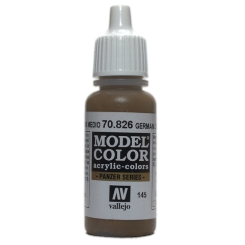 Model Color German Cam.Med.Brown 17 ml.