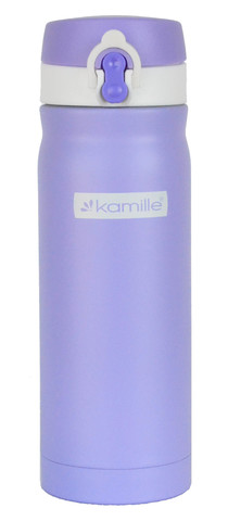 Термос-кружка Kamille 500 мл. фиолетовый