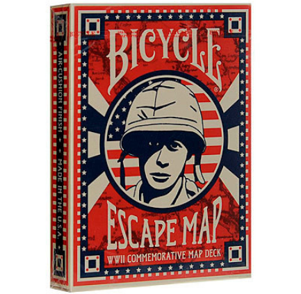 Карты Bicycle Escape Map