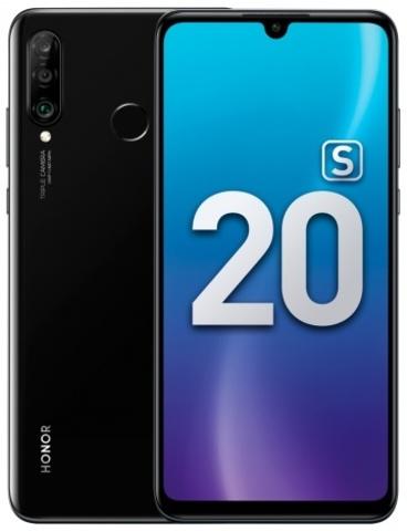 Смартфон Honor 20s 6/128GB Полночный черный (MAR-LX1H)