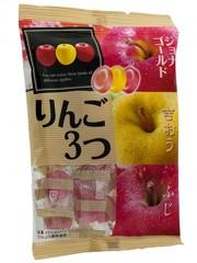 Леденцовая карамель Pine Яблочное трио (3 вида спелых яблок) 85 гр.