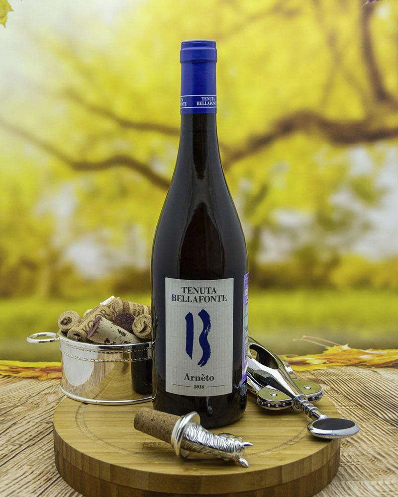 Вино Bellafonte Треббиано Сполетино Арнето Белое Сухое 13% 0,75л.