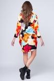 Платье для беременных 05379 разноцветный