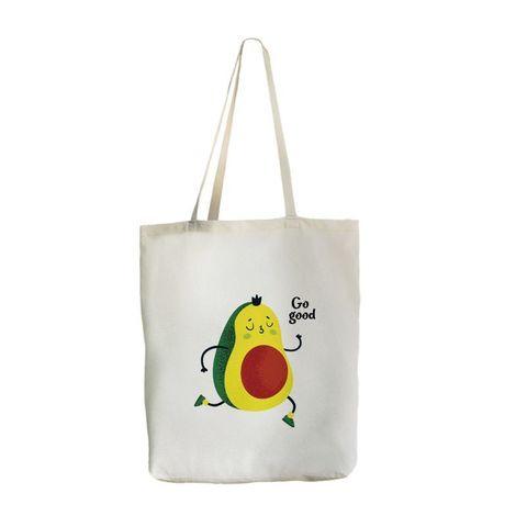 Экосумка с карманом Big-bag Авокадо, 46х42 см (уценка 20%)