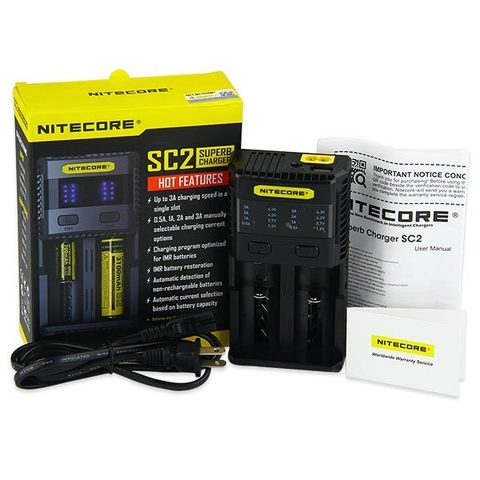 Nitecore Intellicharger SC2 Superb Charger