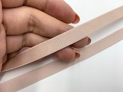 Резинка бретелечная серебристый пион 10 мм (цв. 168)