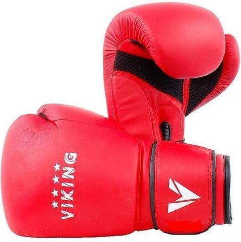 Перчатки боксерские Viking 6oz (V2424) красные