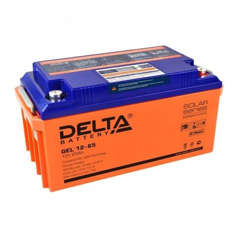 Аккумулятор DELTA GEL 12-65