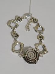 Помпилиус (кольцо + серьги из серебра)