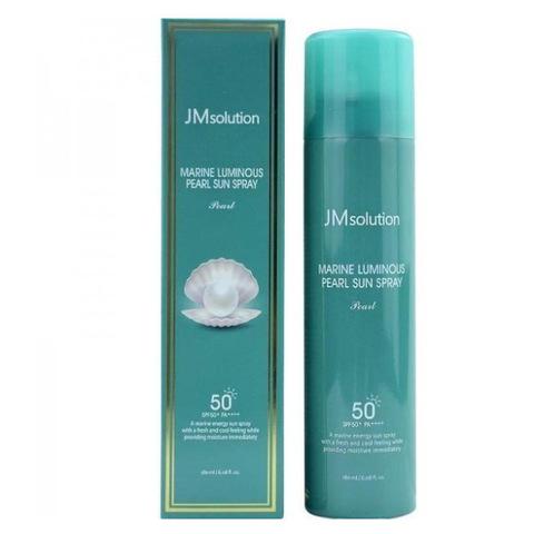 Солнцезащитный спрей для лица, жемчуг JMsolution Marine Luminous Pearl Sun Spray SPF50+PA++++