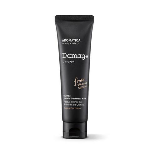 AROMATICA Quinoa Protein Treatment Mask Протеиновая маска с киноа для сухих и поврежденных волос