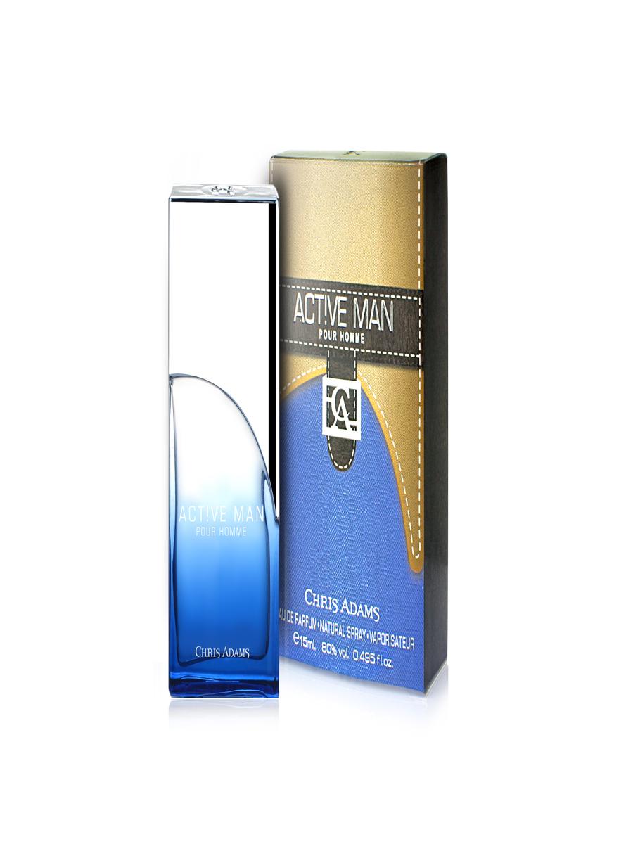 Chris Adams Мужской Active Man Парфюмерная вода 15 мл