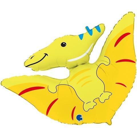 Воздушный шар фигура Динозавр Птеродактиль, 86 см