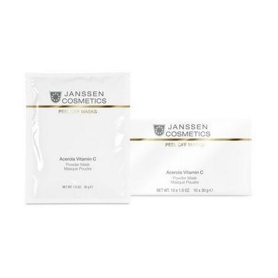 Janssen Peel Off Masks: Моделирующая маска для лица с Ацеролой и витамином С (Acerola Vitamin C Mask), 1*30г
