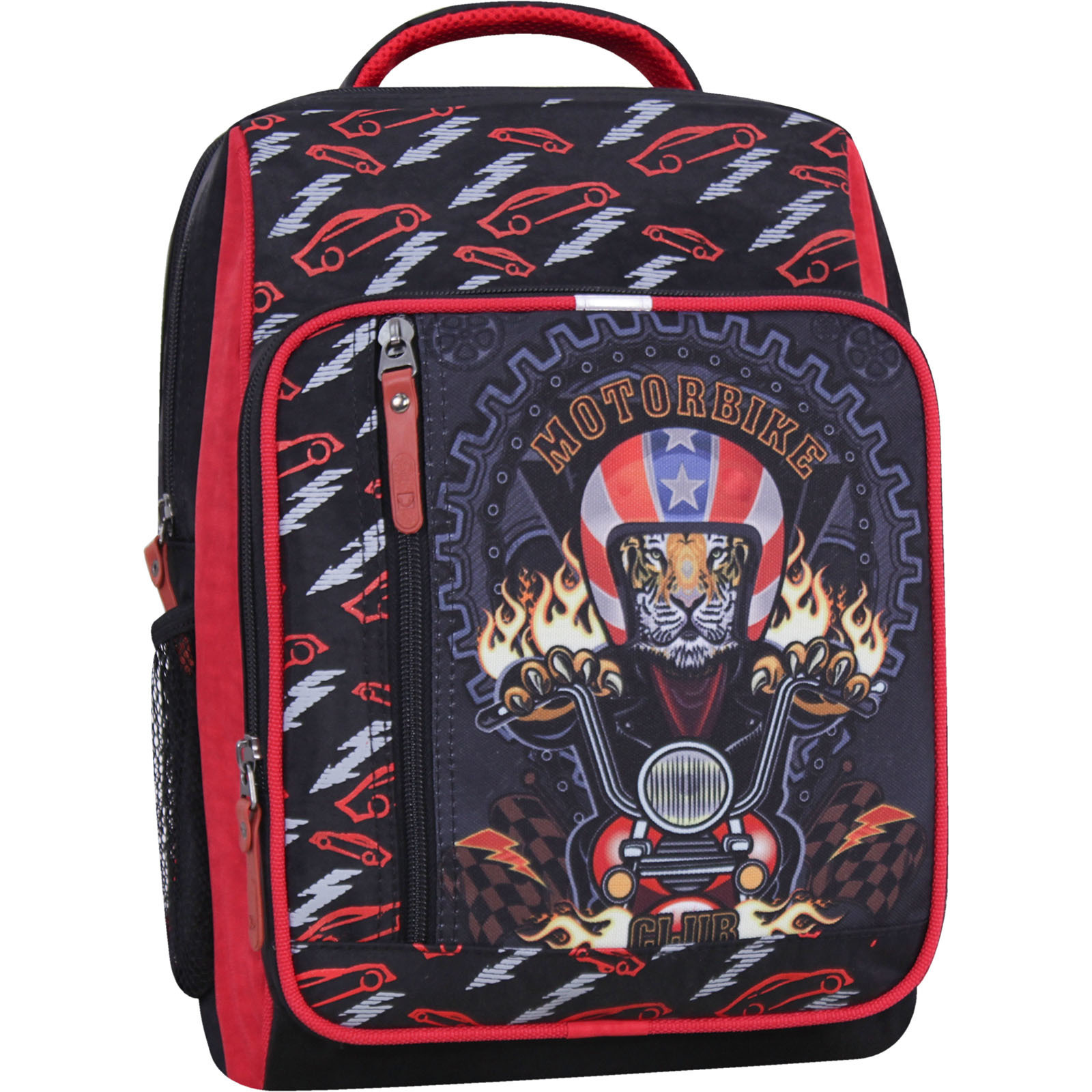 Школьные рюкзаки Рюкзак школьный Bagland Школьник 8 л. черный 658 (0012870) IMG_2704_суб.658_-1600.jpg