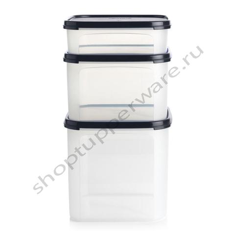 Набор контейнеров Компакт 1,1 л, 2,6 л и 4 л