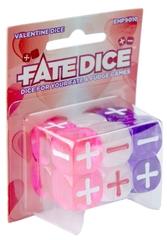 Набор кубиков для Fate System Fate Dice: Valentine Dice