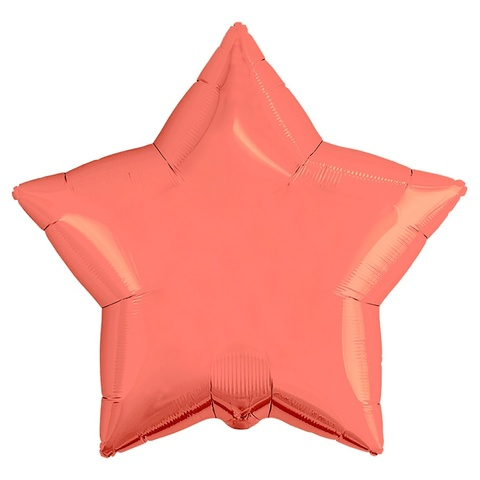 Шар звезда коралловая