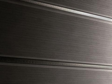 Профиль ДПК для заборов - SW Agger. Цвет темно-коричневый.
