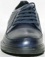 Мужские туфли из натуральной кожи Bellini 12405 Blue