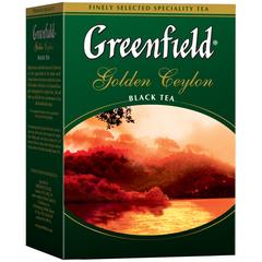 Çay \ Чай \ Black Tea Greenfield Golden Ceylon 100 q