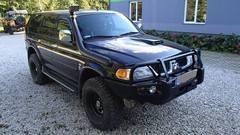 Бампер для MMC Chelenger ,Pajero Sport,MK Triton 1996-2001гг.Deluxe Black Commercial