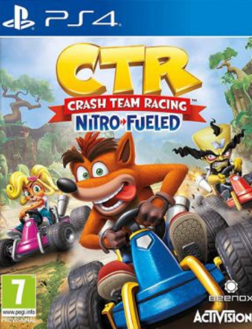 Crash Team Racing Nitro-Fueled (PS4, английская версия)