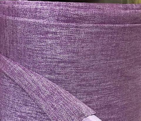 Портьеры блэкаут лен - сиреневые. Ш-100/150/200 см., В-250/270 см. В упаковке - 2 шт.