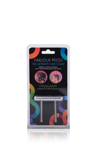 Parlour Press | Штамп для креативного окрашивания волос, набор 17 предметов