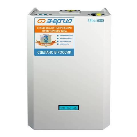 Стабилизатор Энергия Ultra 5000 ВА