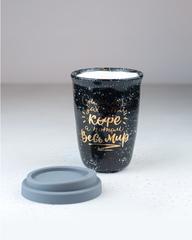 Керамический термостакан «Сначала захвати кофе, потом весь мир», 300–350 мл, Россия