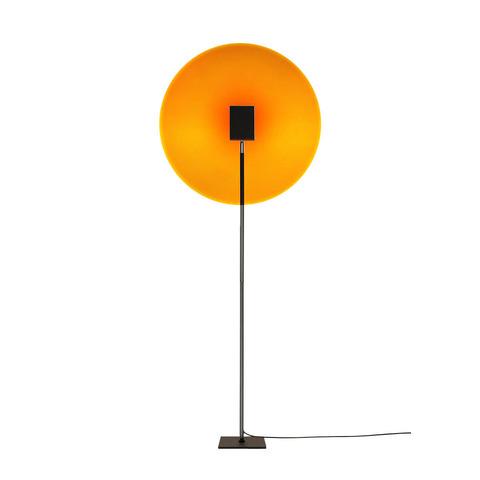 Напольный проектор-светильник Color Projector by Mandalaki Studio (желто-красный)