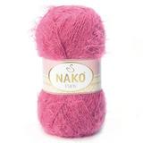 Пряжа Nako Paris 6578 ярко-розовый