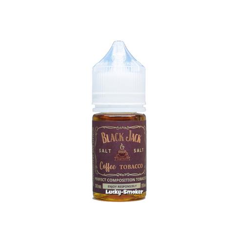 Жидкость Black Jack Salt 30 мл Coffee Tobacco