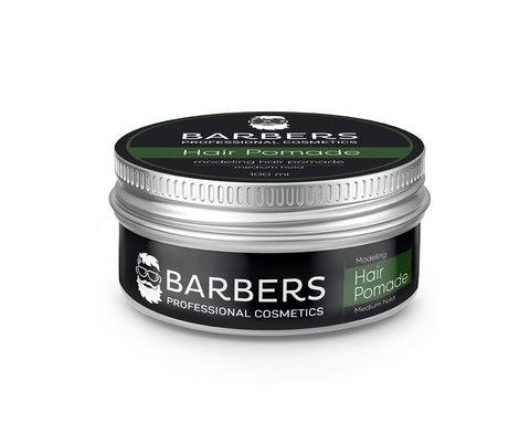Помада для волосся Barbers Modeling Hair Pomade Medium Hold 100 мл (1)