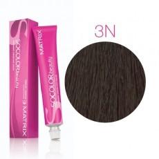 Matrix SOCOLOR.beauty: Neutral 3N темный шатен натуральный, краска стойкая для волос (перманентная), 90мл