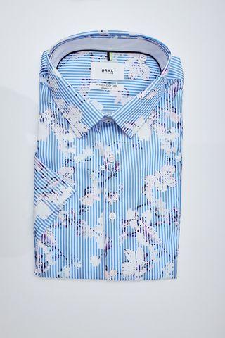 BRAX Рубашка в полоску цветы