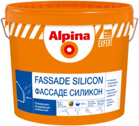 Alpina Expert FASSADE SILICON/ Альпина Эксперт Фасад Силикон силикономодифицированная краска для фасадов