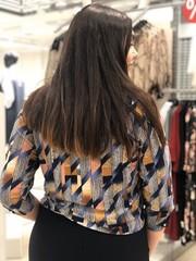 Блузка Ulimex Лиа плетение 3/4 (В20)