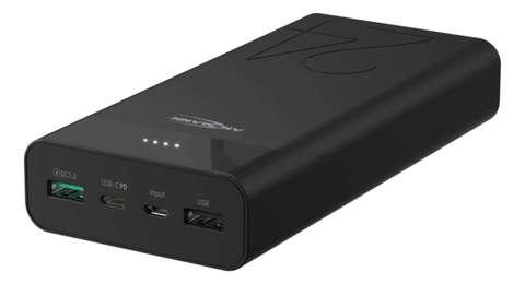 Универсальный аккумулятор Powerbank 24000 mA-черный