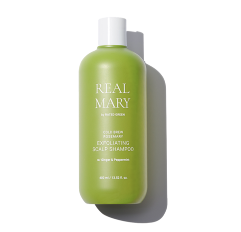 Rated Green Глубоко очищающий и отшелушивающий шампунь с соком розмарина REAL MARY Exfoliating Scalp Shampoo