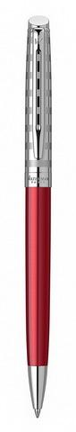 Шариковая ручка Waterman Hemisphere French riviera Deluxe RED CLUB в подарочной коробке123