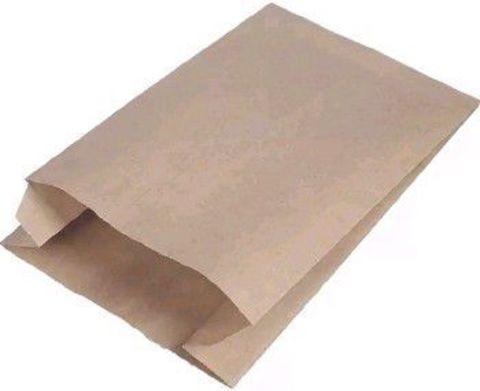 Пакет бумажный с плоским дном 100х60х300 мм крафт40