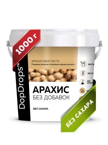 DopDrops(tm) Паста арахисовая без добавок 1000г