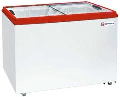 Ларь морозильный  OPTIMA 350С PRIME ( с прямым стеклом ) (936х632х794h, кВт.ч./сут2,5)
