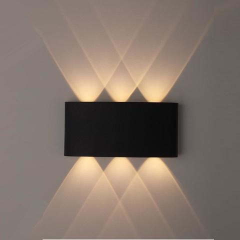 Декоративная светодиодная подсветка ЭРА WL12 BK 6*1Вт IP54 черный